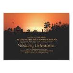 Camper van Camping Wedding Uitnodigingen