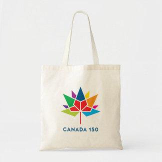 Canada 150 Officieel Veelkleurig Logo - Draagtas