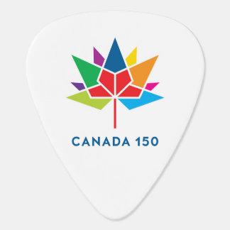 Canada 150 Officieel Veelkleurig Logo - Gitaar Plectrum