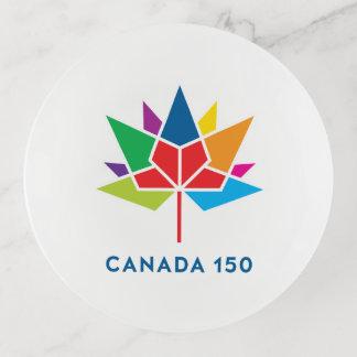 Canada 150 Officieel Veelkleurig Logo - Sierschaaltjes