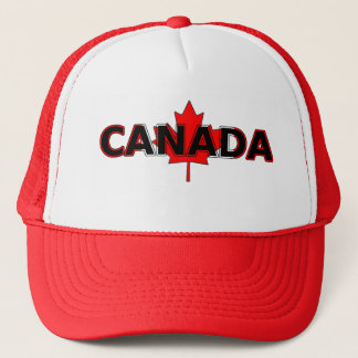 Canada met het Pet van de Vrachtwagenchauffeur van