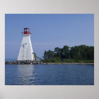 Canada, Nova Scotia, het Bretonse Eiland van de Ka Poster