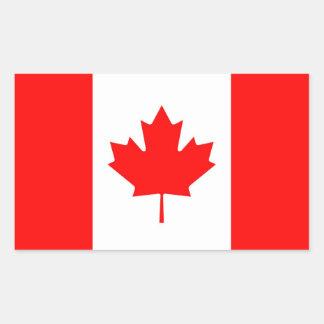 CANADA RECHTHOEKIGE STICKER