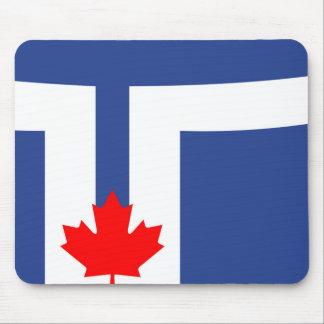 Canada van de de stadsvlag van Toronto symbool Muismat