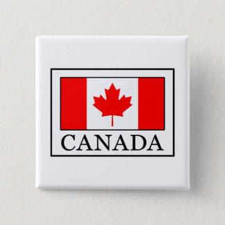 Canada Vierkante Button 5,1 Cm