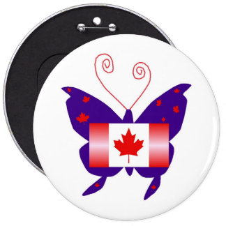 Canadese Diva Vlinder Speldje