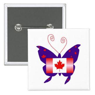 Canadese Diva Vlinder Speldjes