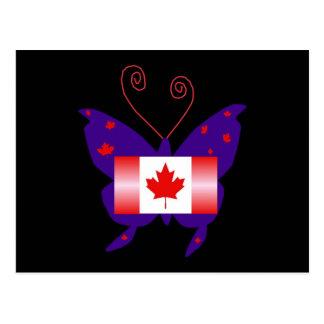 Canadese Diva Vlinder Wens Kaart