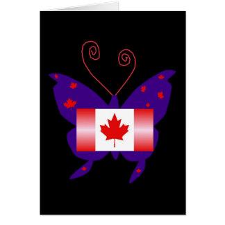 Canadese Diva Vlinder Wenskaarten