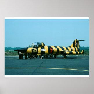 Canadese Luchtmacht 104739 van het CF 104G Poster