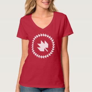 Canadezen in QuiltCon: Rood Overhemd T Shirt