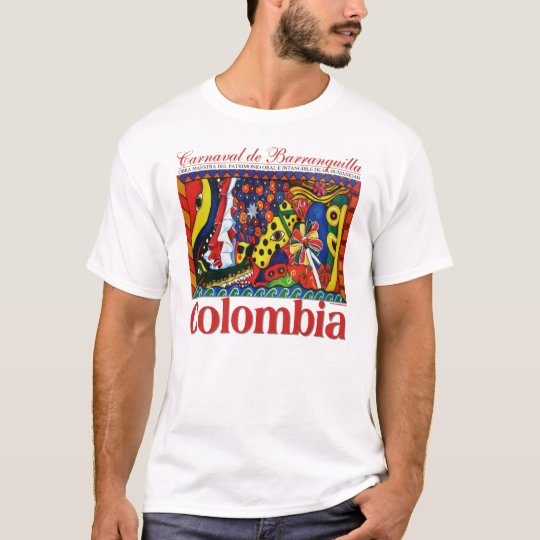 Canaval DE Barranquilla T Shirt | Zazzle.nl