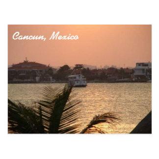 Cancun, het Briefkaart van Mexico