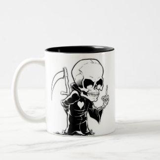 Caneca Morte Tweekleurige Koffiemok
