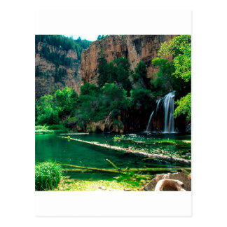 Canion Colorado van Glenwood van het Meer van de Briefkaart