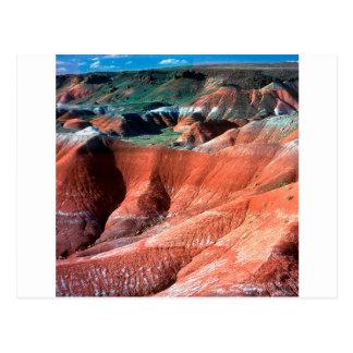 Canion Geschilderde Woestijn Briefkaart