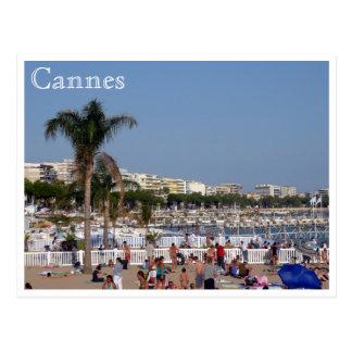 Cannes kust wens kaart