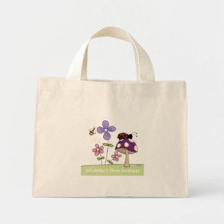 Canvas tas 2 van het Flard van de bloem