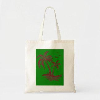 Canvas tas met Palmen
