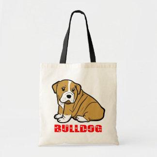 Canvas tas van de Cartoon van de Hond van het