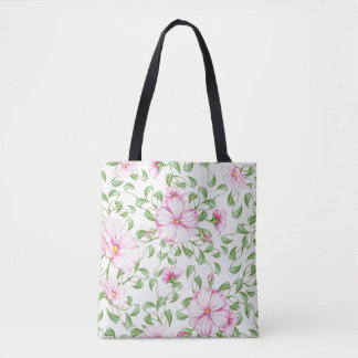 Canvas tas van de Druk van Boho het Bloemen