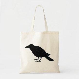 Canvas tas van de Vogel van de Zak van de Kraai