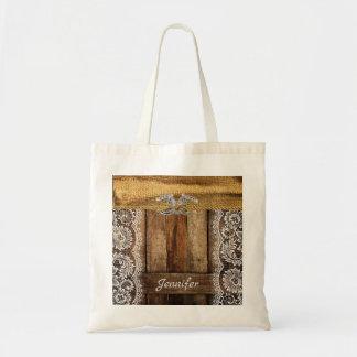Canvas tas van het Bruidsmeisje van het Huwelijk