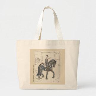 Canvas tas voor de Minnaars van het Paard