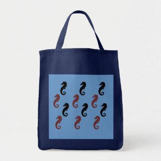 Canvas tas - Zeepaardjes Boodschappen Draagtas