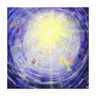 """Canvas van de Galerij van -40"""" x 40"""" van de hemel"""