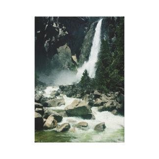 Canvas van de Waterval van het Park van Yosemite