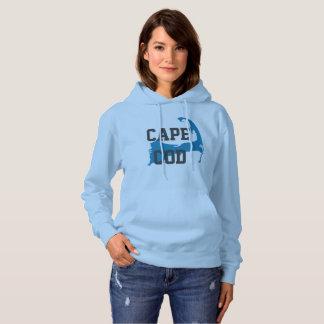 "Cape Cod Massachusetts ""Universitaire Stijl"", Hoodie"