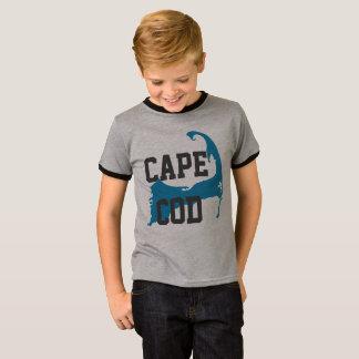 """Cape Cod Massachusetts """"Universitaire Stijl"""", T Shirt"""