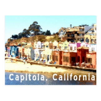 Capitola-Californië Briefkaart