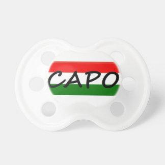 CAPO, de WERKGEVER van capomiddelen! in het Italia Speentje