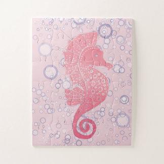 Capricieus en Schattig Kunstwerk Seahorse Puzzel