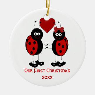 Capricieus Ons Ornament van Eerste Kerstmis