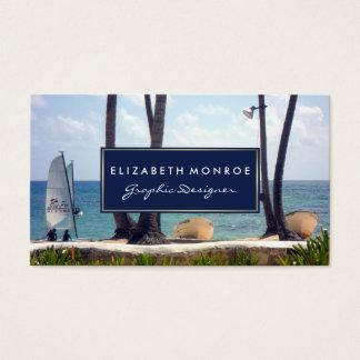 Caraïbisch Strand Visitekaartjes