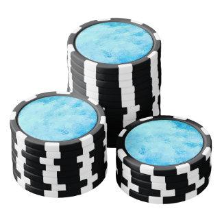Caraïbisch Turkoois Zee Pokerchips