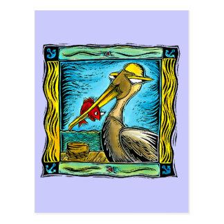 Caraïbische Pelikaan Briefkaart