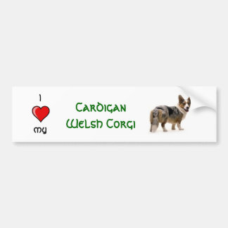 Cardigan Welse Corgi Bumpersticker