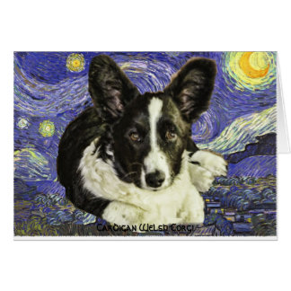 Cardigan Welse Corgi Notecards Briefkaarten 0