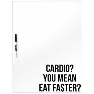Cardio? Sneller eet u betekent? - Grappige het Whiteboard