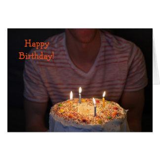 Card'nCake: Gelukkige Verjaardag! Wenskaart
