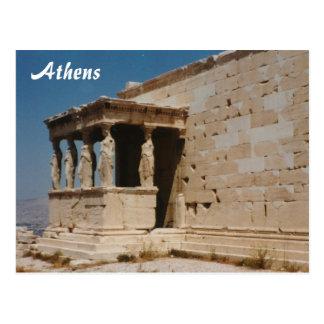 Cariatides - Athene Briefkaart