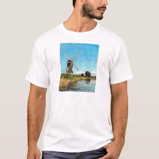 Carl Skånberg Landscape met Windmolen T Shirt