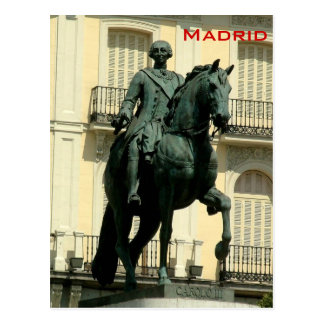 Carlos III Briefkaart