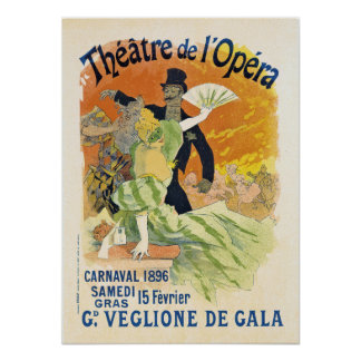 Carnaval 1896 poster
