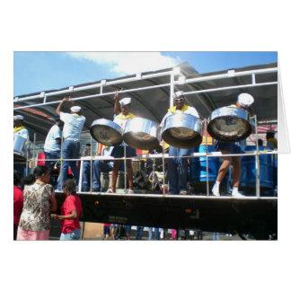 Carnaval in San Fernanado Trinidad Kaart