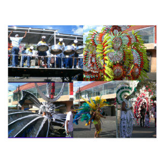 Carnaval in Trinidad Briefkaart